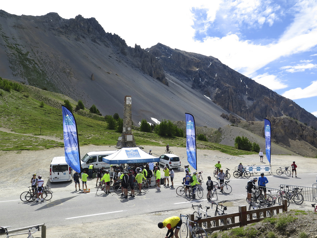 Col d'Izoard 2014 Bike-only day
