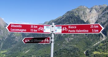 Swiss Cycling Signs