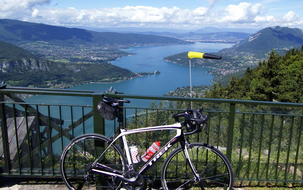 Lake Annecy - view from Col de la Forclaz de Montmin