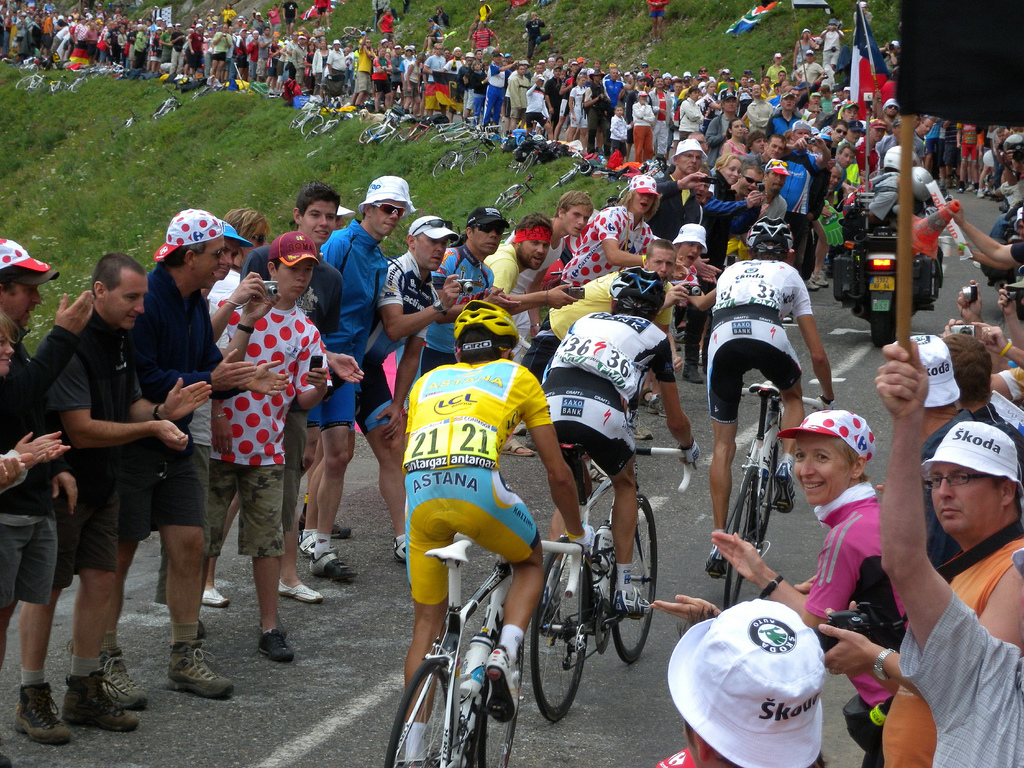Contador and the Brother's Schleck