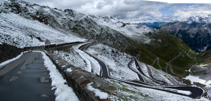 Stelvio: Snow in July