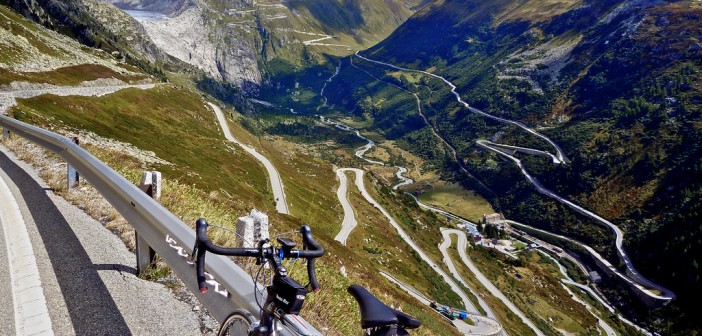 The Ten Highest Paved Cycling Climbs in Switzerland