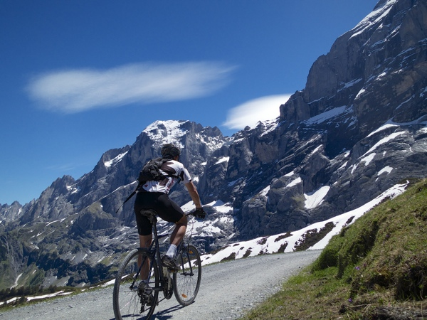 Just above Grosse Scheidegg
