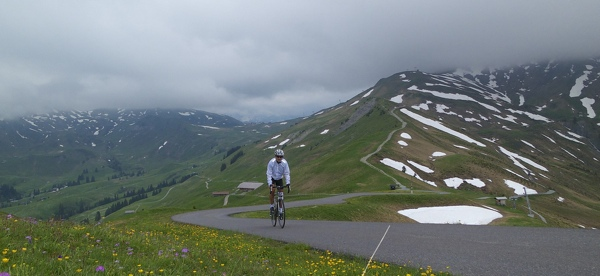 Nearing summit at Sillerenbühl