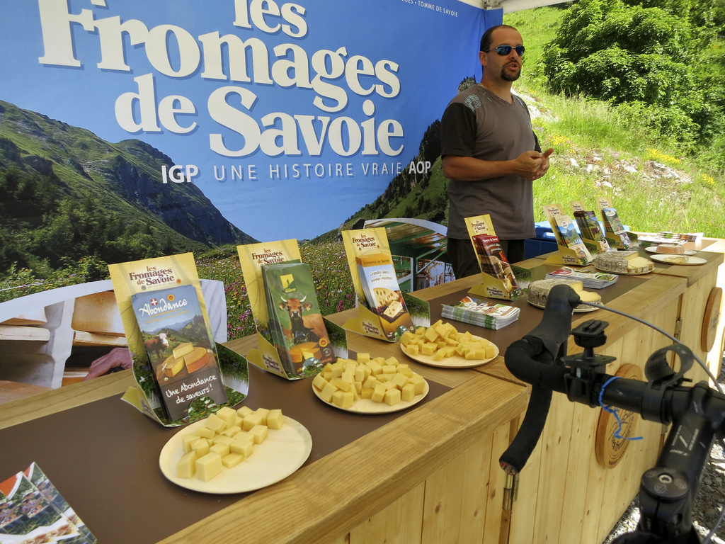 Col des Aravis and some tasty cheese