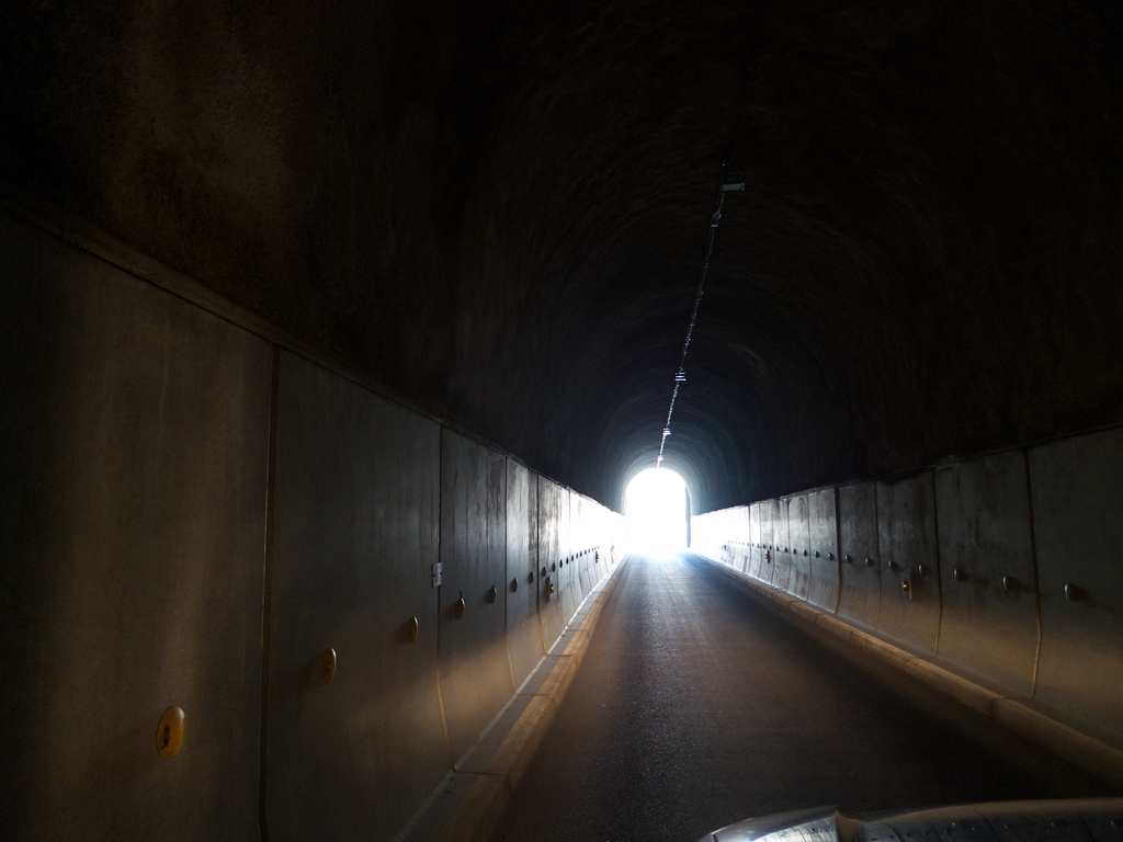 The Galibier Tunnel