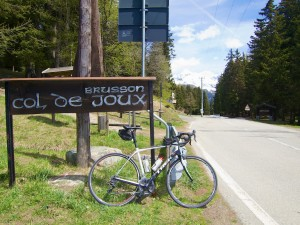Col de Joux - Summit