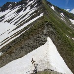 Col du Coin - yikes