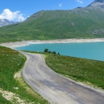Superb side road to Col du Petit Mont Cenis