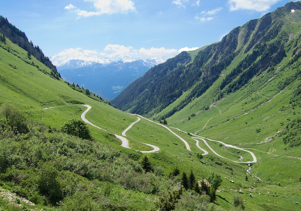 Nice Hairpins - non paved