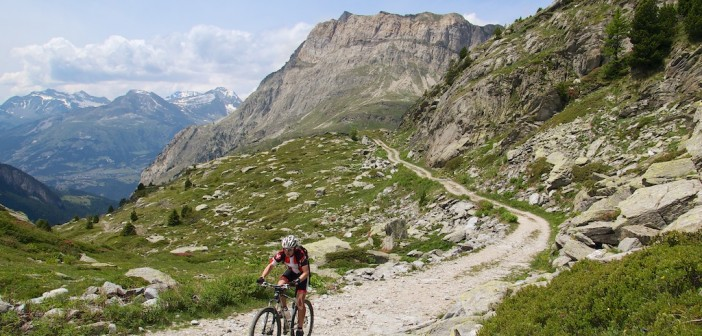 Heading to Col de Clapier