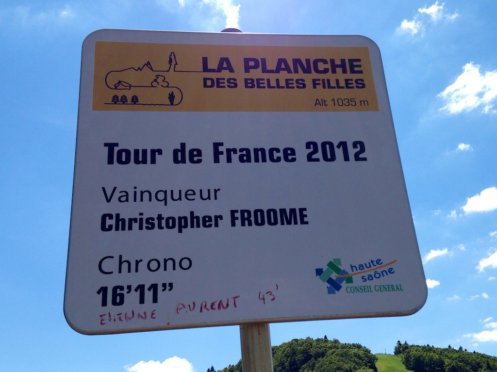 Froome won here in 2012