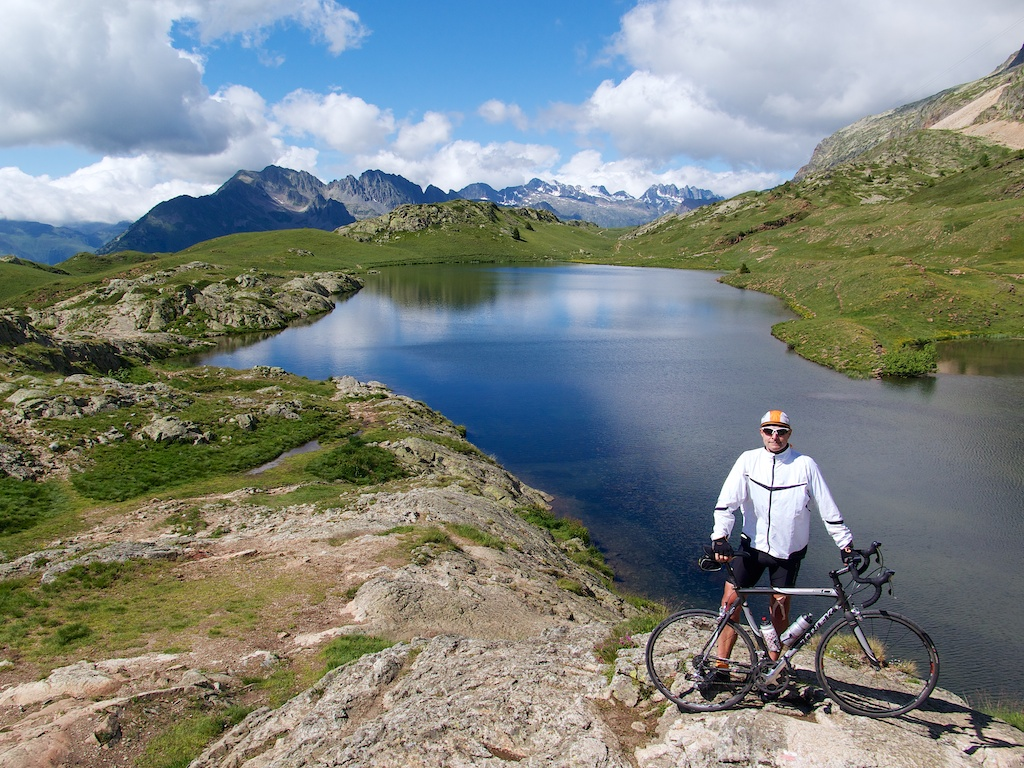 Lac Besson - above Alpe d'Huez