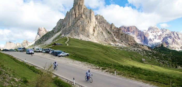"Passo Giau (the ""easier"" north side)"