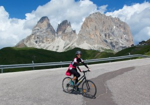 Doreen and Passo Sella