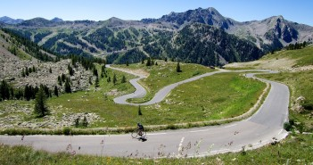 Coll de la Lombarde - French side 2 kms from summit