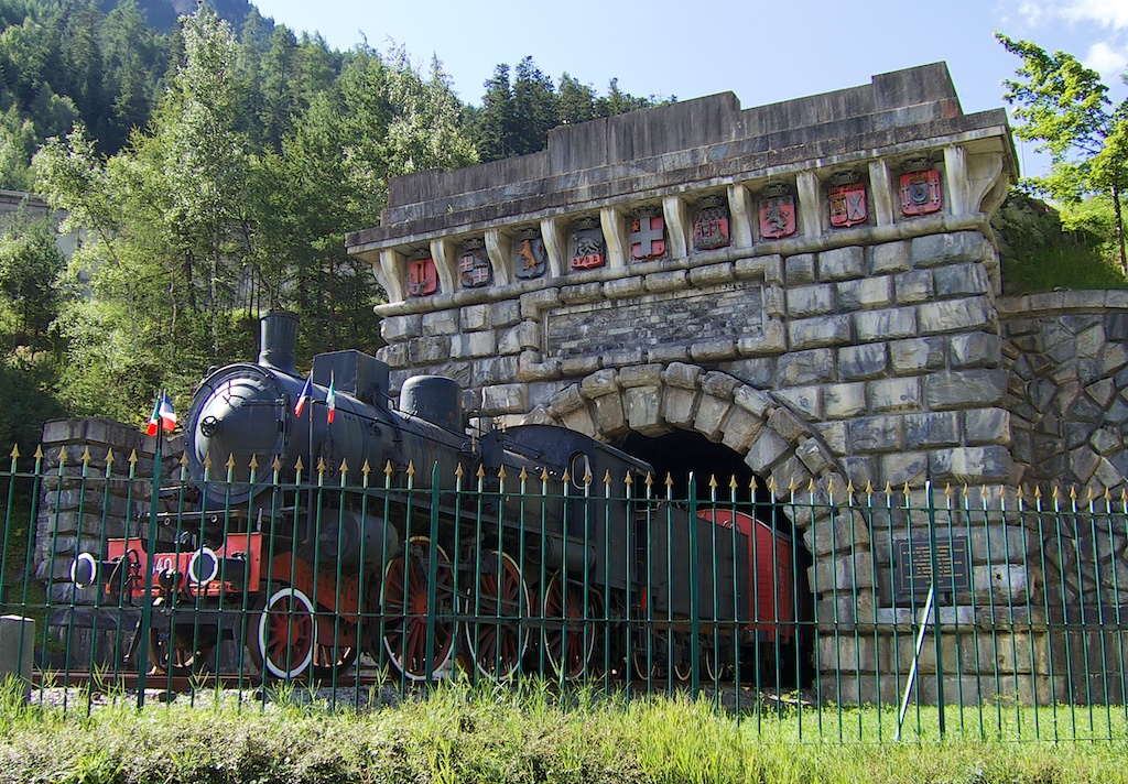 Fréjus Tunnel museum,near old tunnel exit.