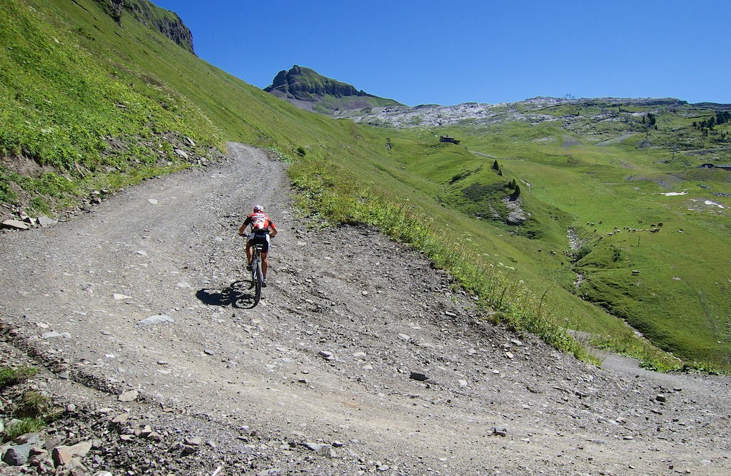 Steep, but at least I can pedal :)
