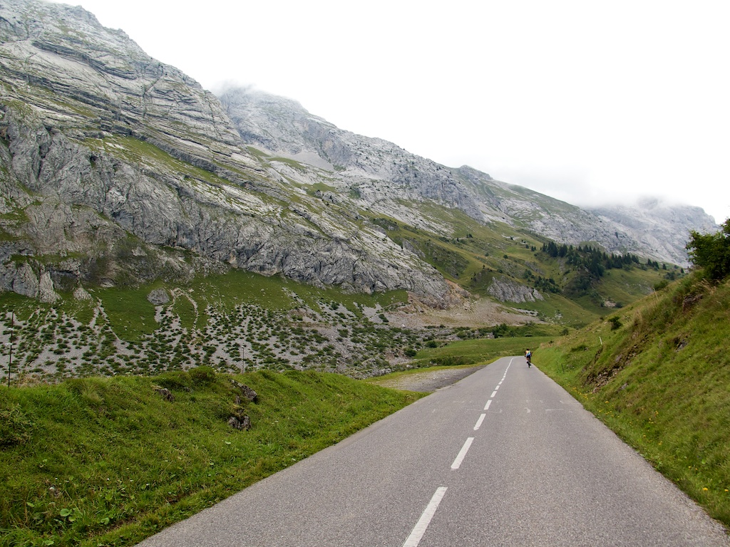 Road to Colombière