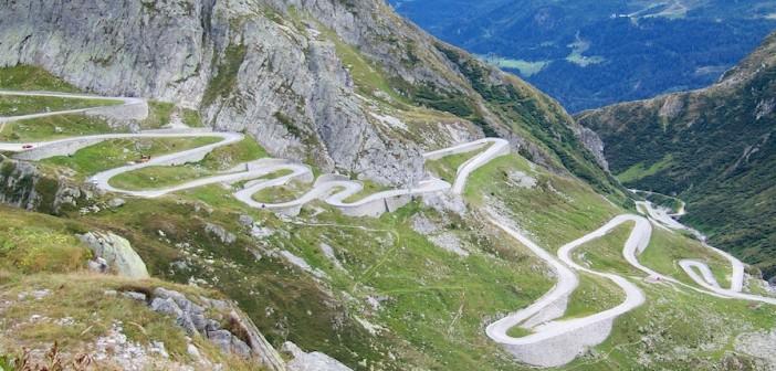 Passo San Gottardo (Gotthardpass) and Lago di Lucendro