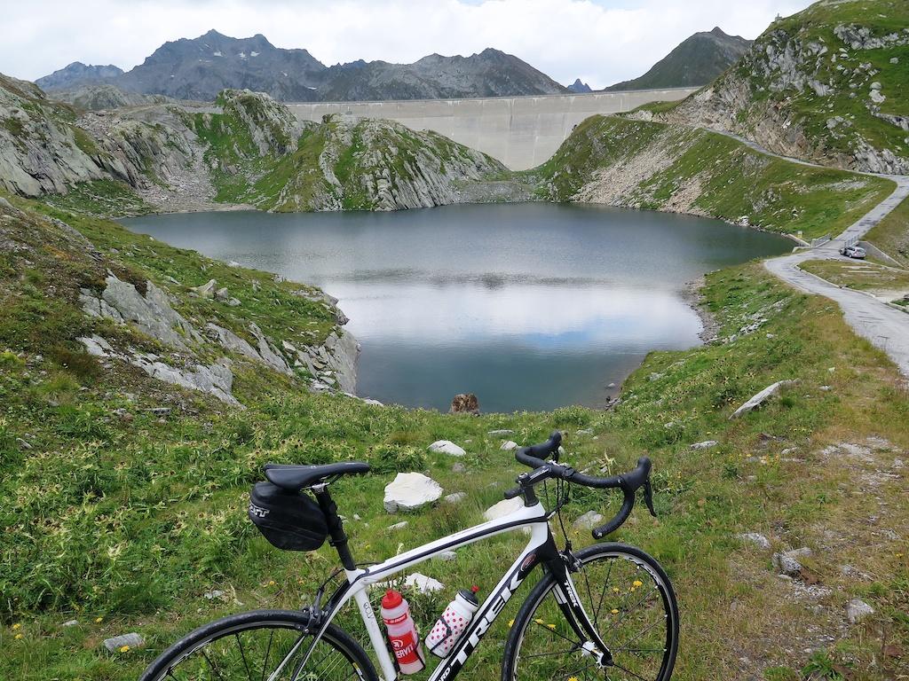 Lago Scuro, and thie Diga (dam) del Narèt
