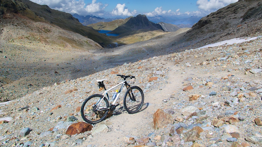 """riding"" to glacier"