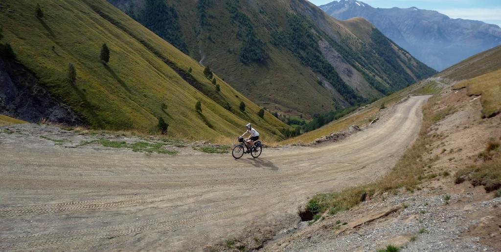 Road to Col du Souchet