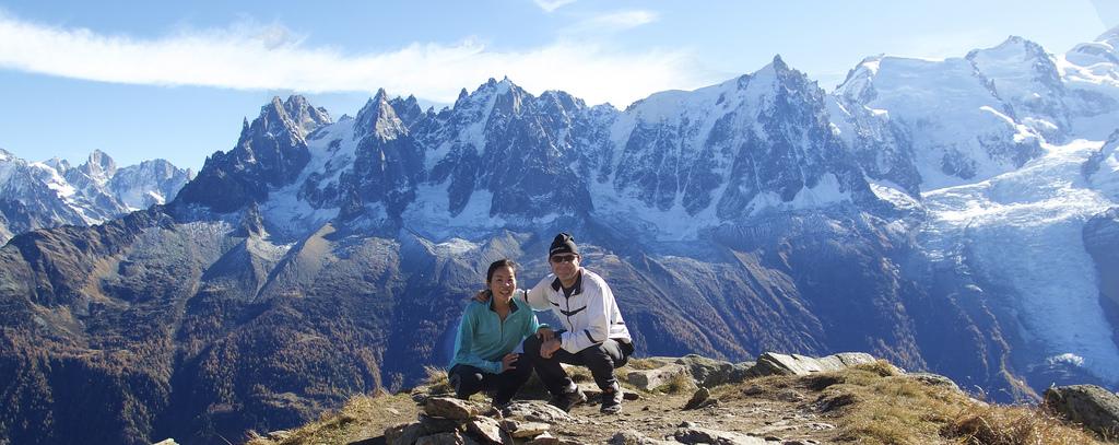 Hike above Chamonix