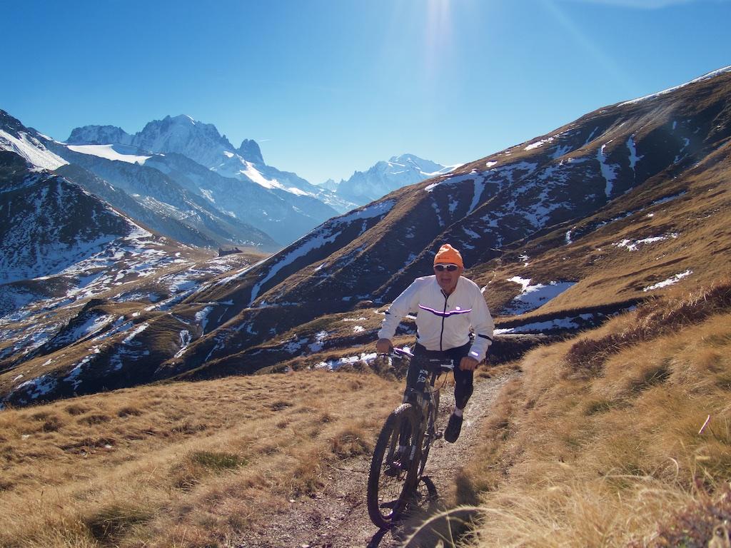Above Col de Balme