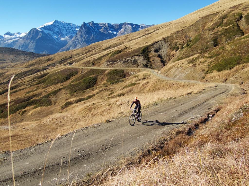 Above Col des Posettes