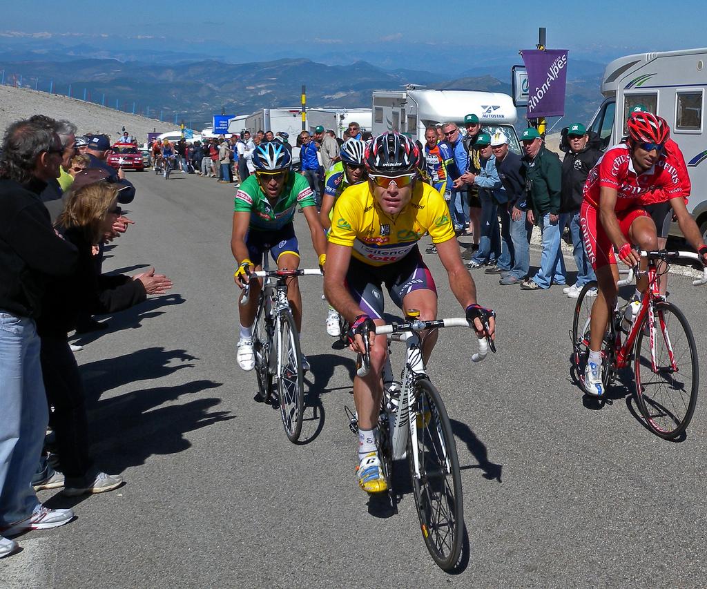 Evan, Contador, Moncoutié - 2009 Dauphiné