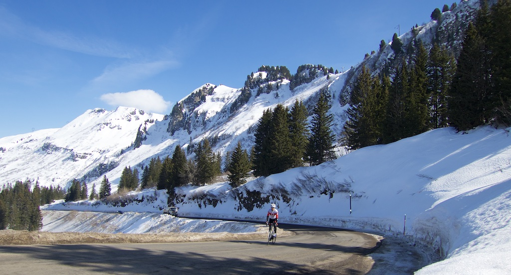 near Col de pIerre Carrée