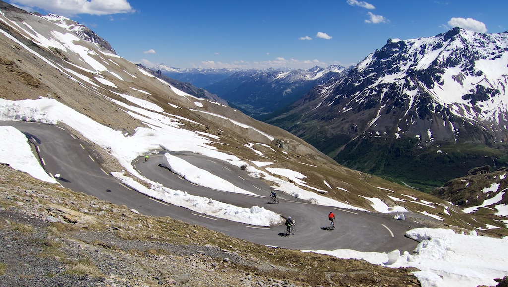 Galibier - south side - nice hairpins