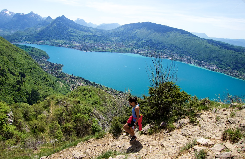 Le Semnoz across the lake
