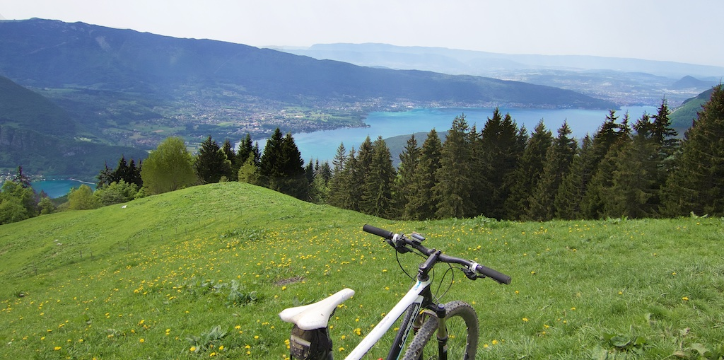 View from Col de l'Aulp