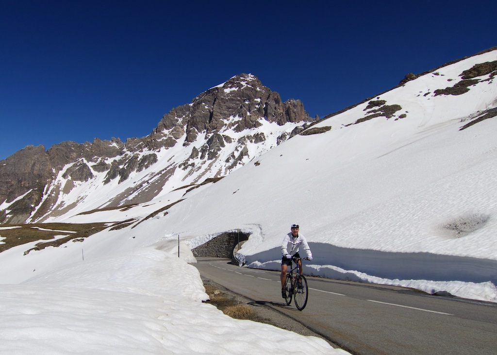 Peak behind me is Le Grand Galibier - 3228 metres