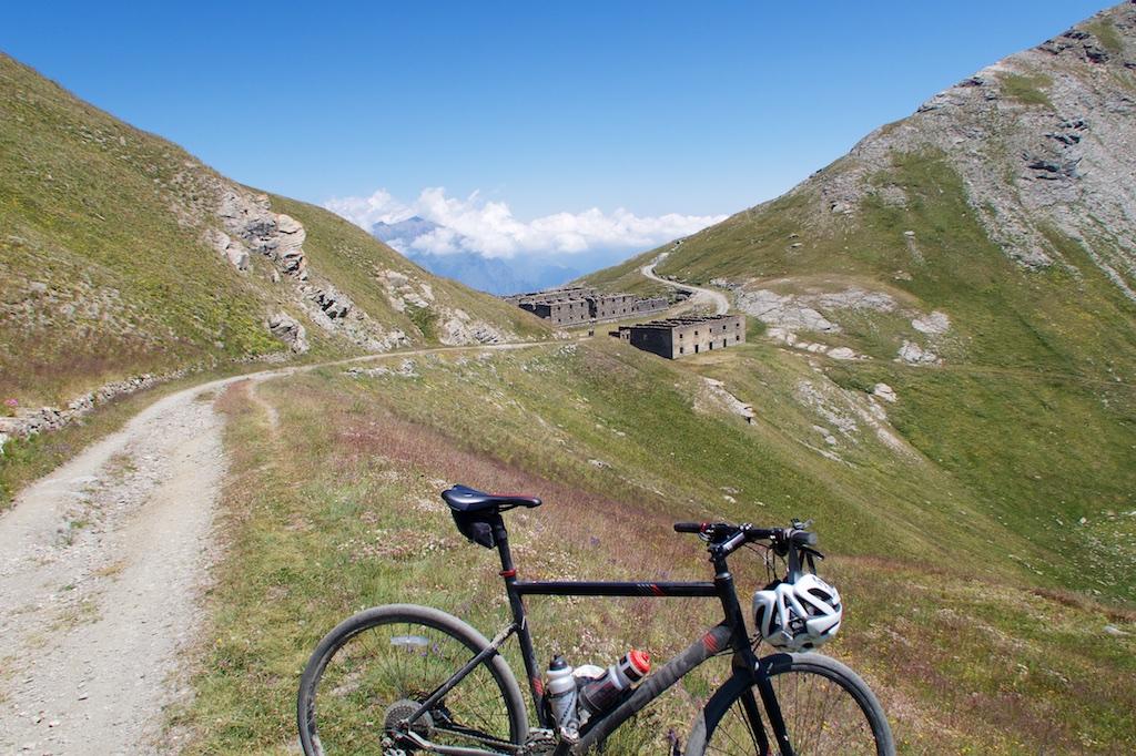 Caserma Gran Serin - built 1890 - 2540 metres