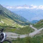 view from Colle delle Finestre