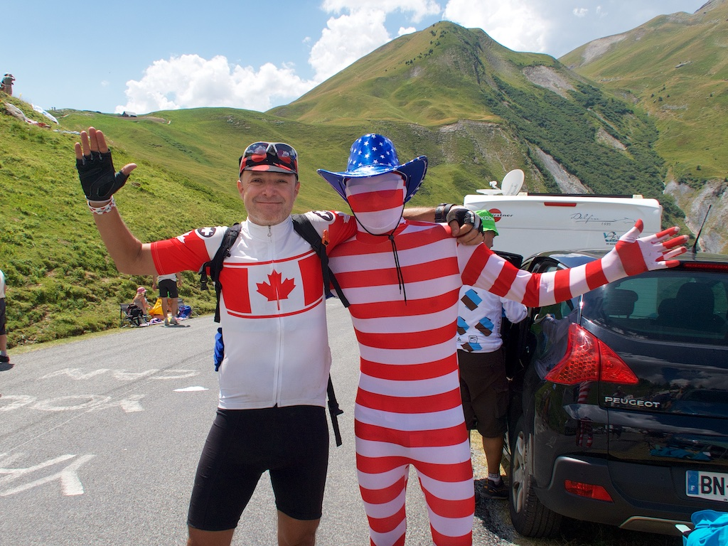 USA Canada relations at the Tour