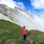 HIgh above Col de la Colombière