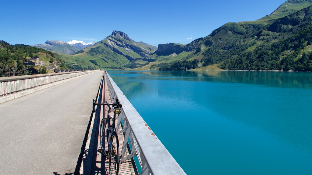 Crossing the dam