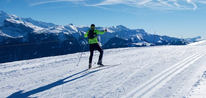 Col de Joux Plane:  Cycle Up and Cross-Country Ski
