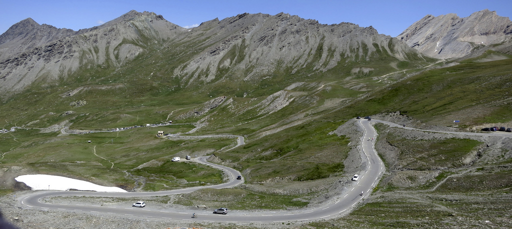 French side of Col Agnel / Colle dell'Agnello