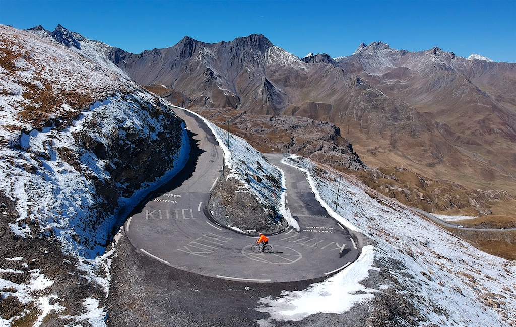 I have the good fortune to ride Col du Galibier once a year or so. These  days 503230b5d