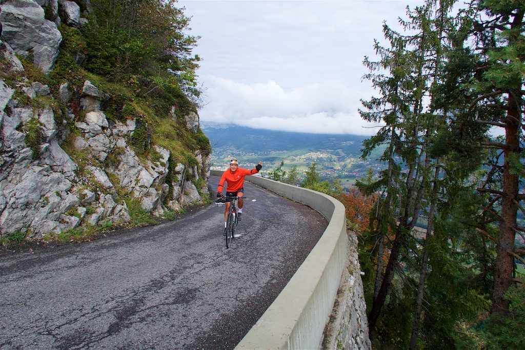 on the way to Col de Cenise