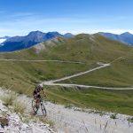 Above Col Basset heading up Mont Fraiteve