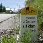 Nice km markers