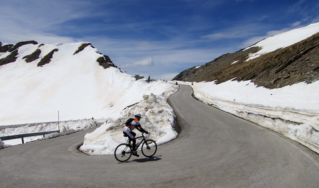 Colle dell'Agnello the day before 2016 Giro.
