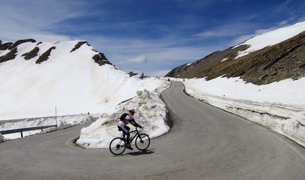 Colle dell'Agnello the day before 2016 Giro.