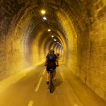 Annecy bike path tunnel